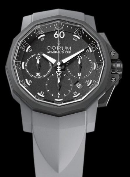 Corum Admirals Cup Challenger 44 Chrono Replica watch 753.819.02/F389 AN21